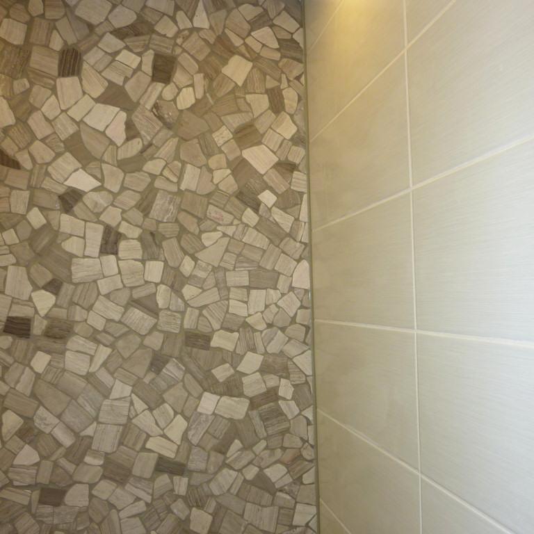 Dusche tapezieren verschiedene design - Fliesen tapezieren ...